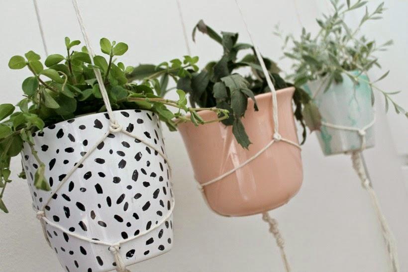 potter til at hænge