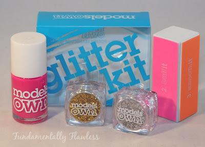 Models Own Limited Edition Glitter Kit Swatch and Review