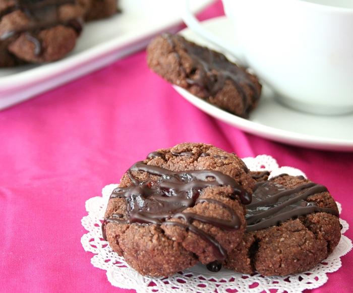 Chocolate Raspberry Thumbprint Recipe | All Day I Dream ...