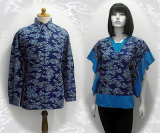 blus batik 2013