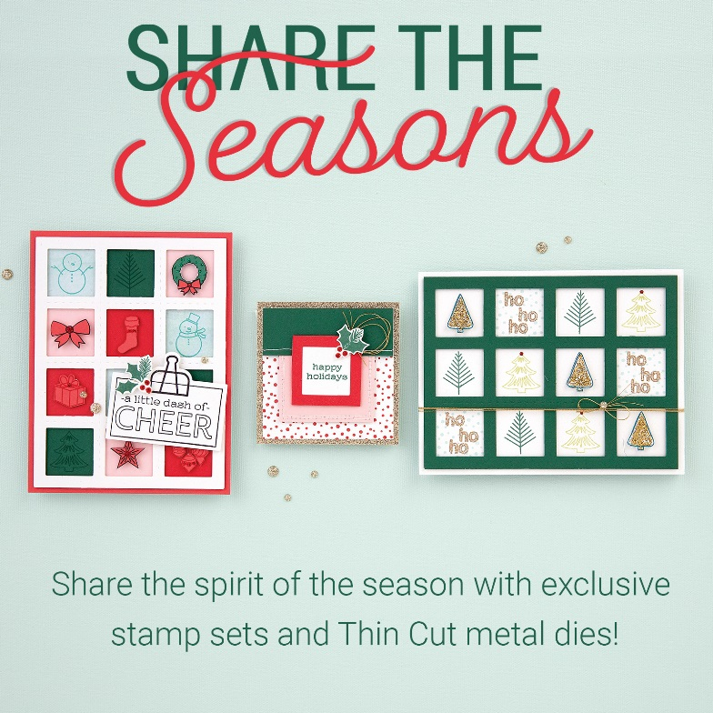 CTMH Share The Seasons September Special with 30% off for bundles