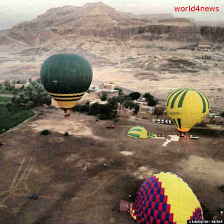 hot air balonna accident egypt