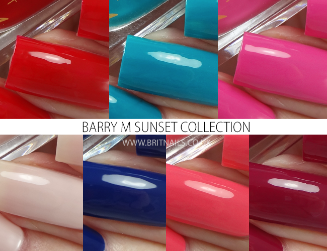 Barry M Sunset Collection