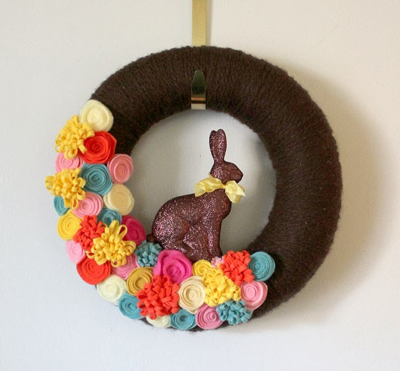 Easter Wreaths, part 5