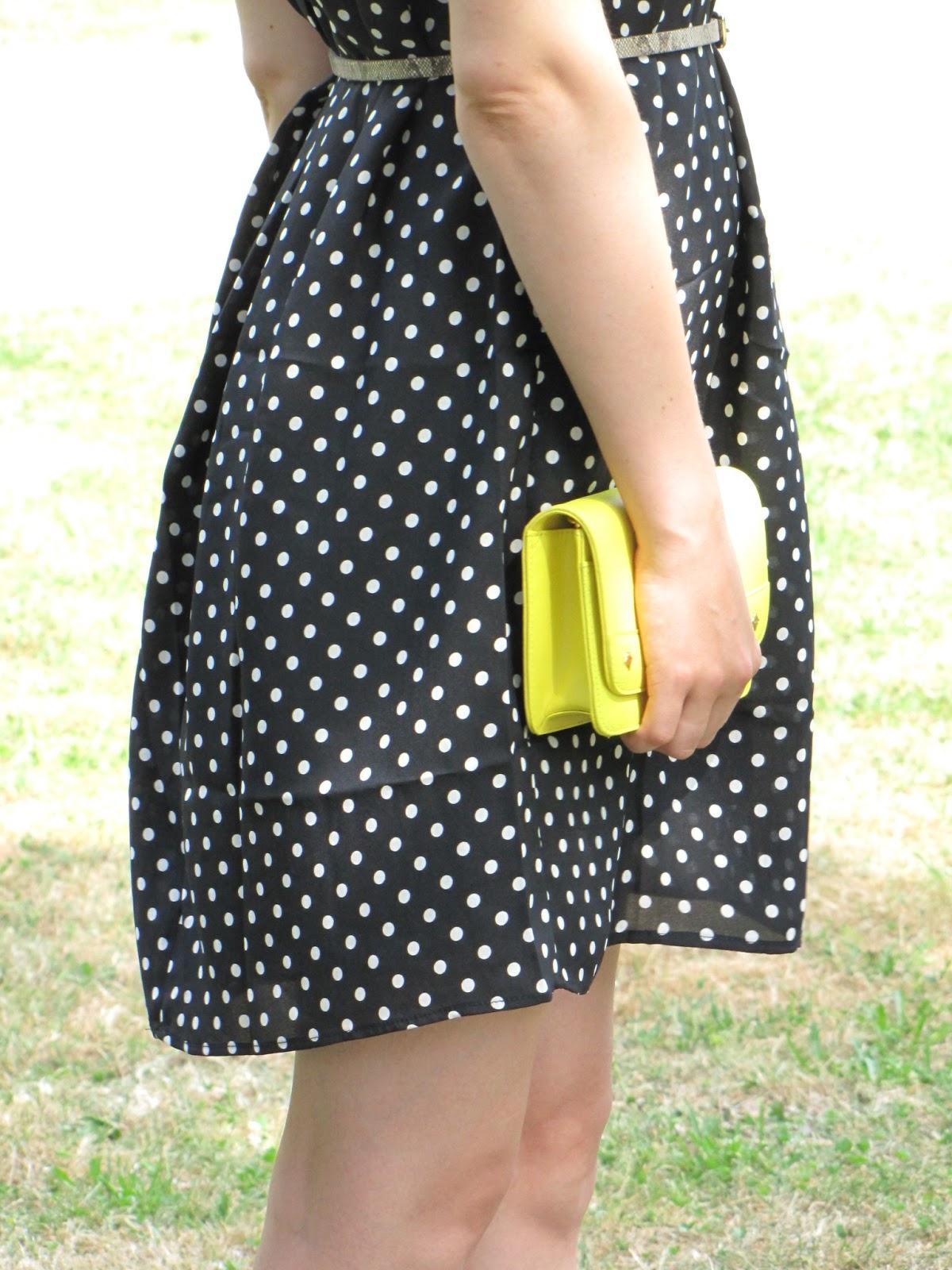 Yellow small bag MCM