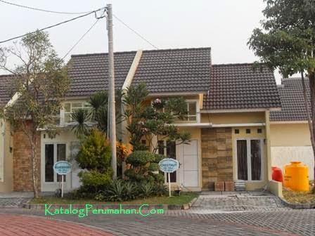 rumah contoh Taman Wisata Regency