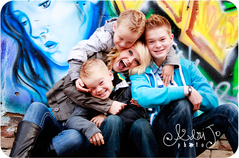 Fun Loving Family - Boise Idaho Photographer