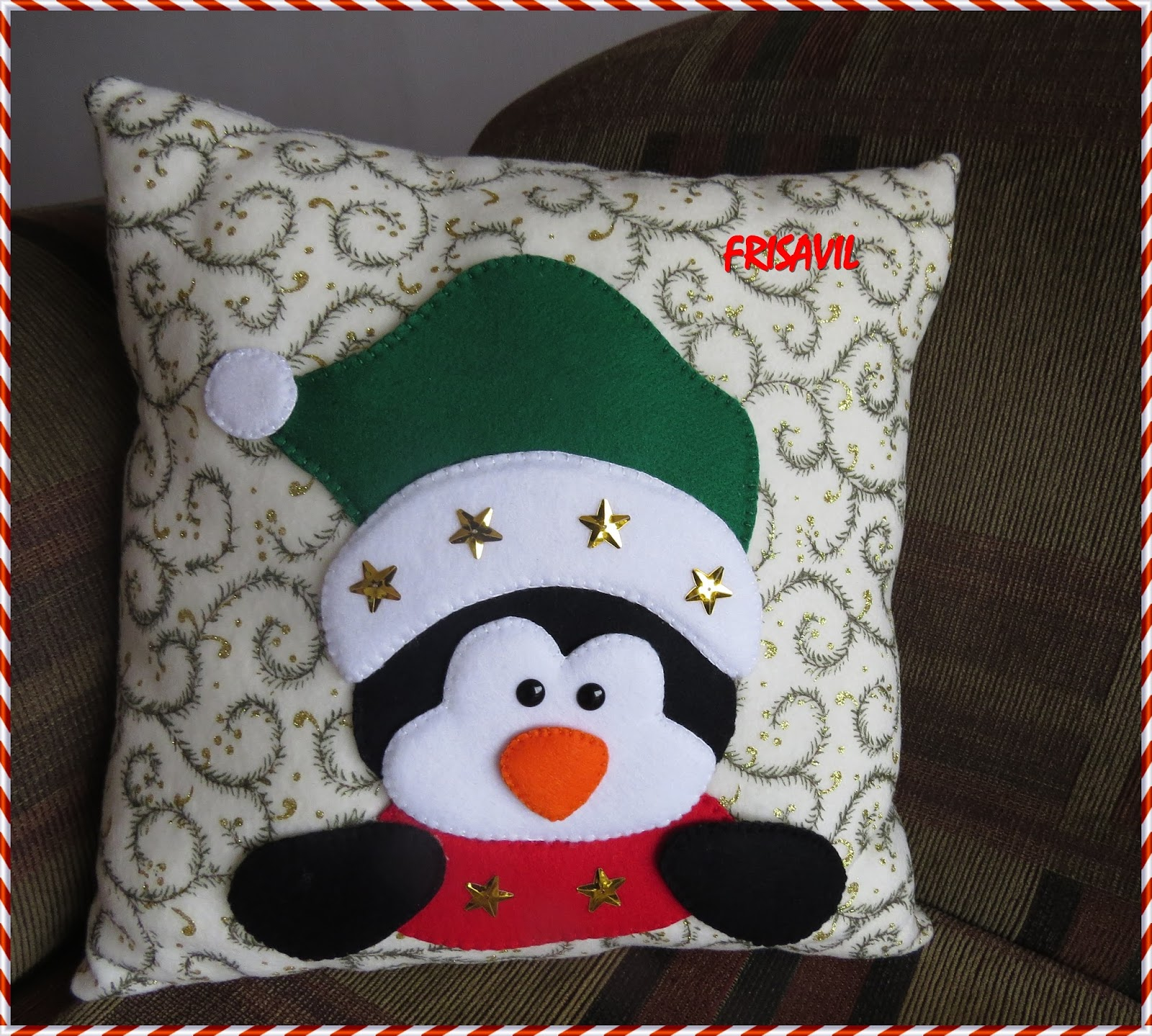 Venta de mu ecos navide os frisavil cojines navide os - Cojines de navidad ...