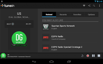TuneIn Radio Pro listen to the world's radio