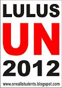 LULUS UN TAHUN 2012