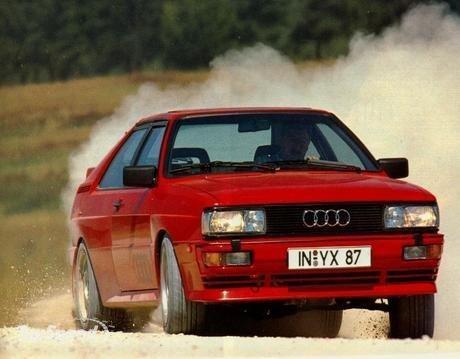 Audi Coupé quattro (1980)