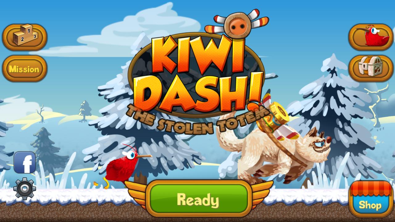 Kiwi Dash gratis para móviles y tablets