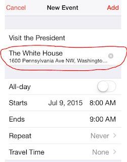 Waze Calendar integration