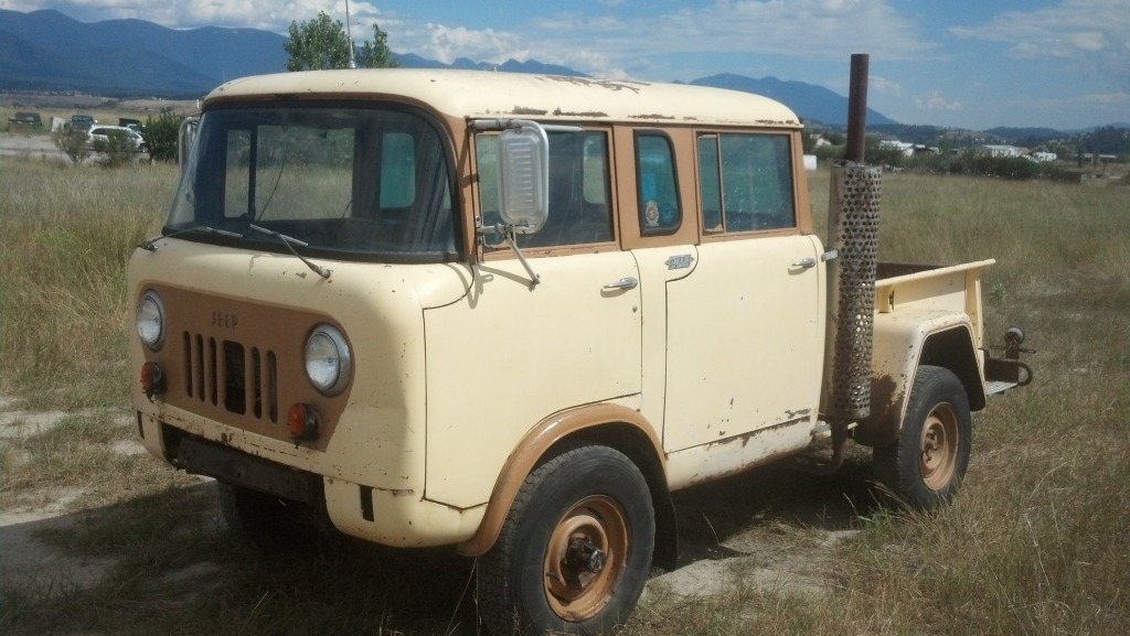 Willys Fc 170 >> Daily Turismo: 10k: Full Crewcab: 1964 Jeep Foward Control M-677 w/ Ford 289 V8
