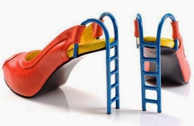 Sepatu Paling Unik serta Aneh - Sepatu Slide