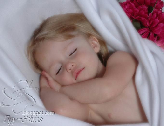 براءه-اطفال-طفل -نائم