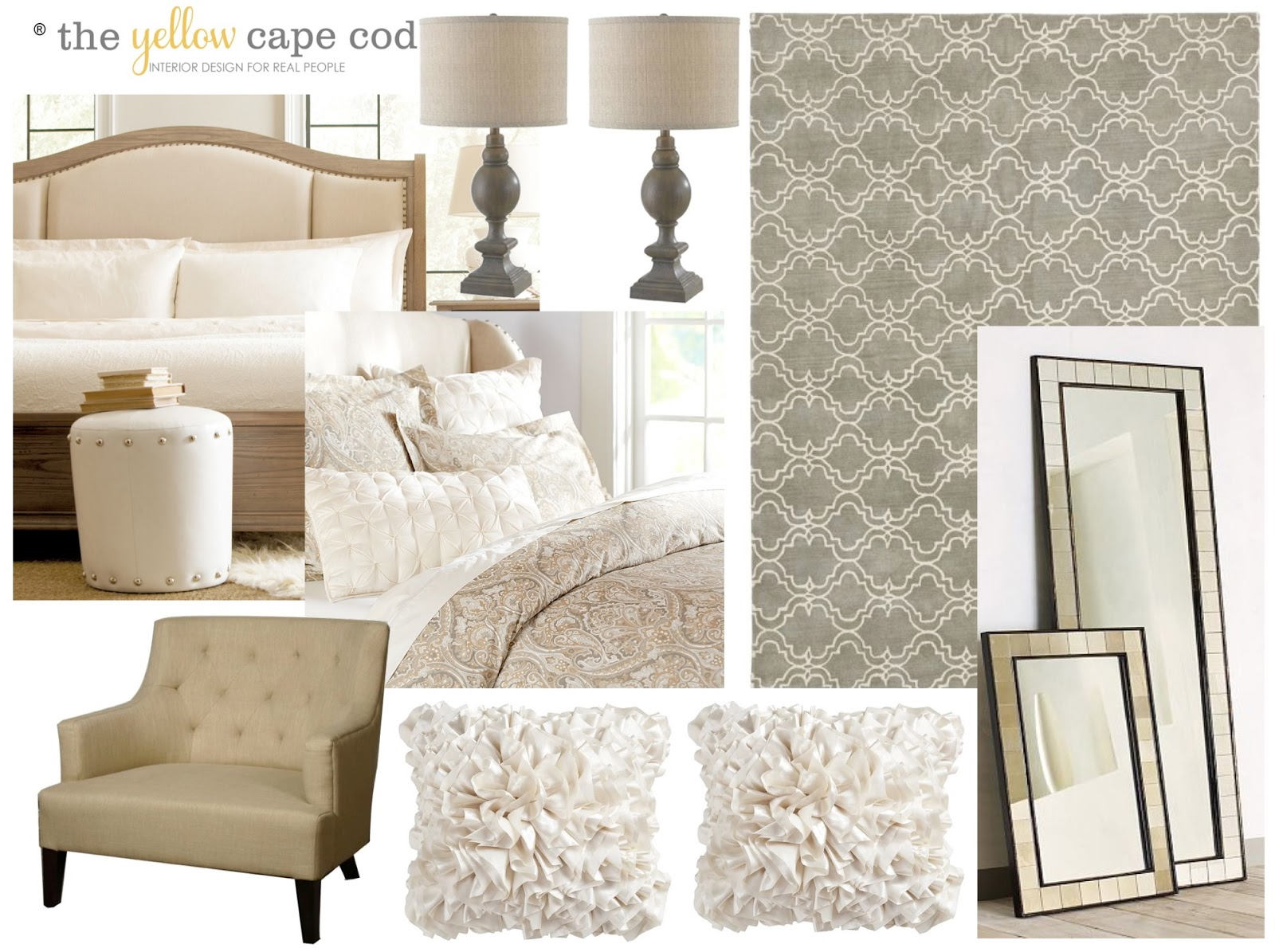 The yellow cape cod all about the bed for Cape cod style bedroom furniture