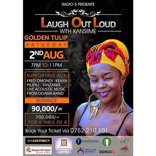Laugh Out Loud With Kansiime in Dar-es-salaam