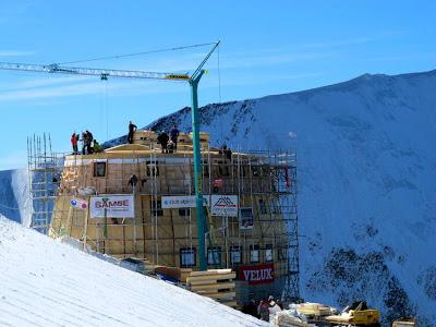 Refuge du Goûter, Mont Blanc, France.