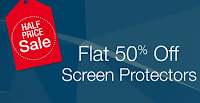 Amazon India Weekend Sale Offer – Flat 50% Off on Screen Protecters : Buytoearn