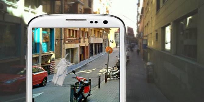 Aplikasi Android untuk deteksi hantu
