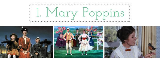 mary poppins infantil