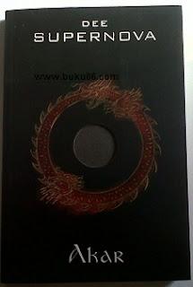 Novel Supernova Akar, Ksatria putri dan bintang jatuh by Dewi Lestari