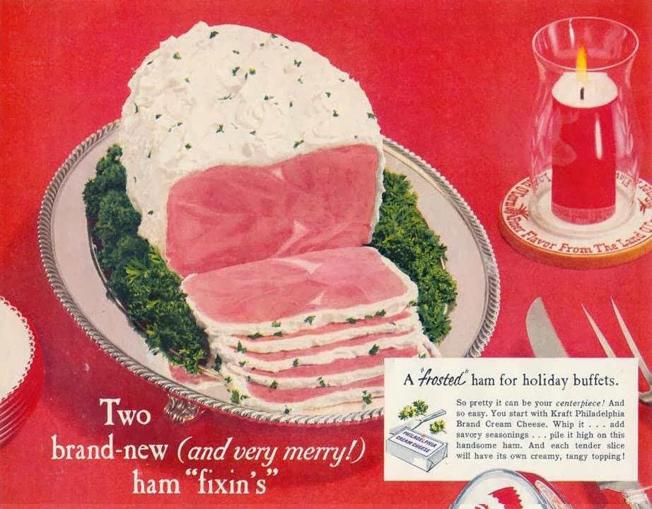 History\'s Dumpster: Your Christmas Party Buffet Table