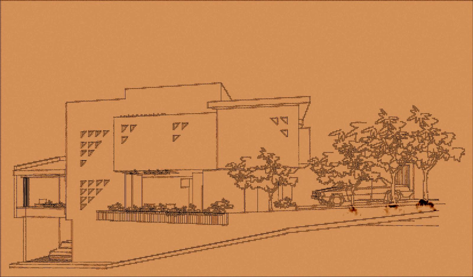 Casa bioclimatica en culiacan sinaloa bocetos for Construccion de casas bioclimaticas