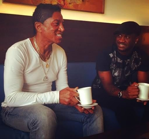 Jermaine Jackson in Nigeria to work with P-Square on 6th album