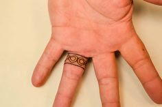 celtic ring tattoos inside finger wedding ring tattoos inside finger