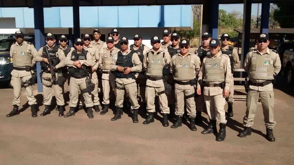Curso para policia militar