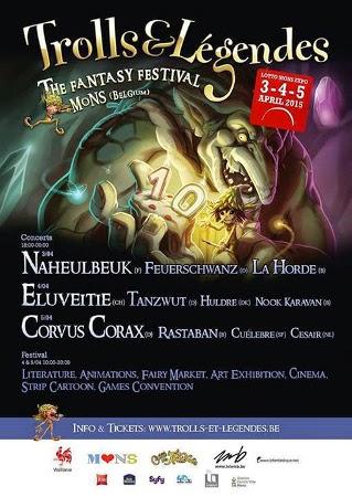 Affiche 2015 du festival Trolls & Légendes