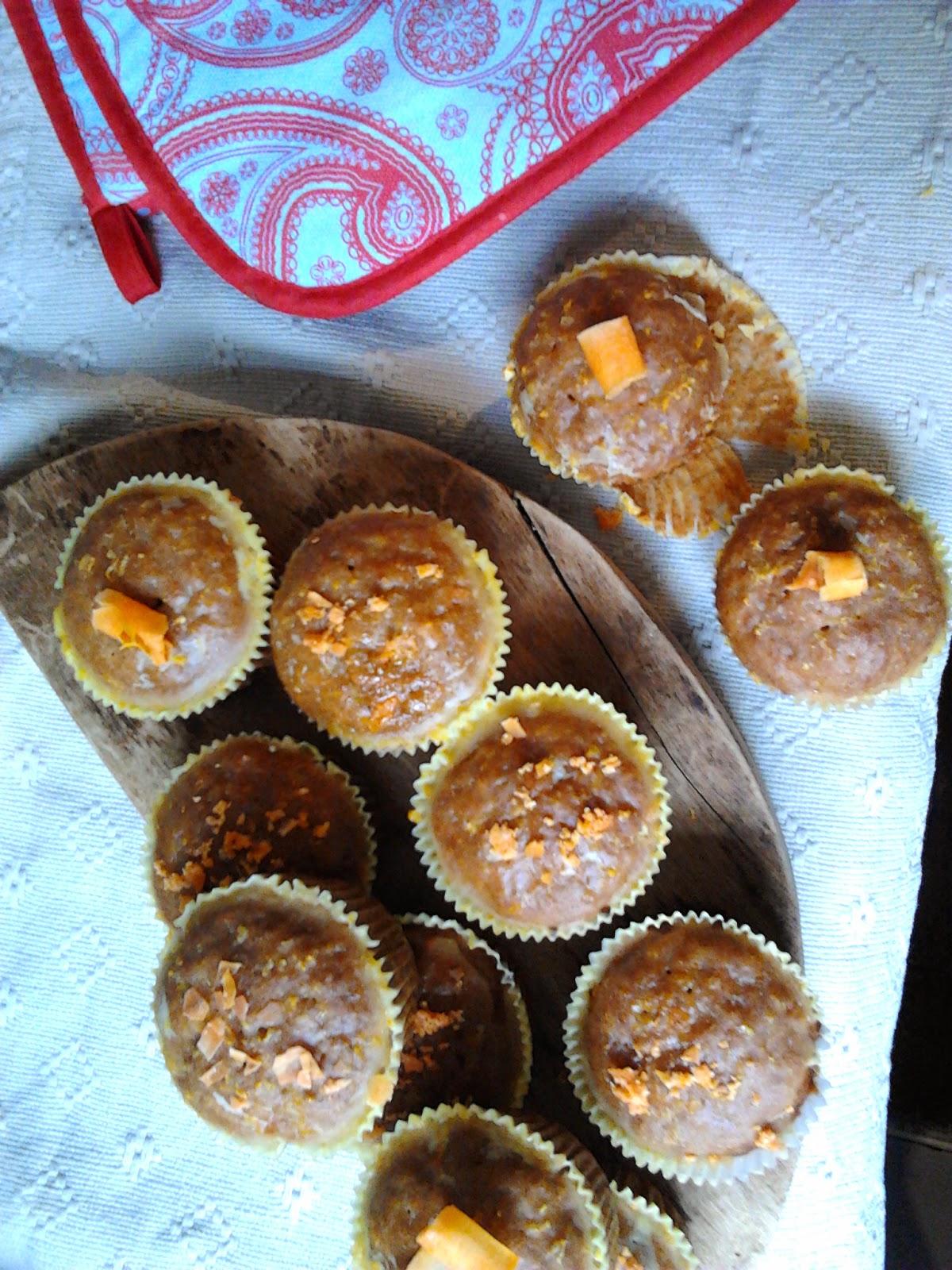Muffinki marchewkowe. Super proste!