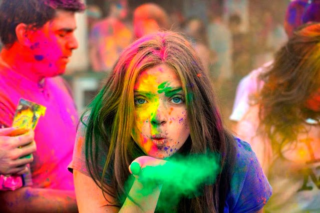 Poetry In Multimedia Holi Festival Of Colors Part 3