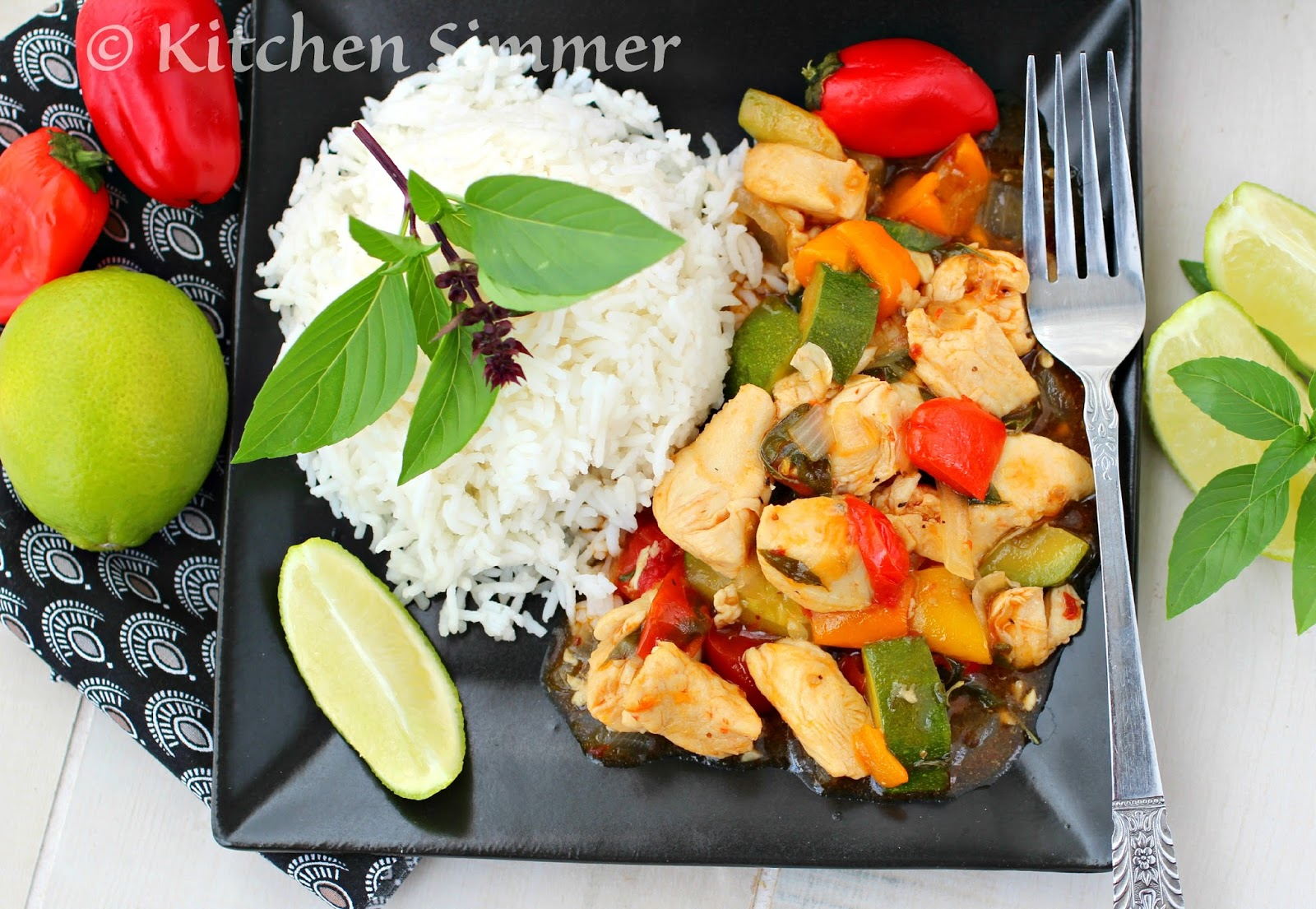 Kitchen simmer thai basil chicken and vegetable stir fry copyright all recipes content and images unless otherwise stated are the sole property of kitchen simmer formerly known as curry and comfort forumfinder Image collections