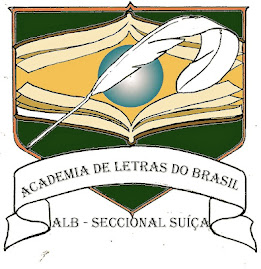 Fui eleita! Academia de Letras do Brasil Seccional-Suia - MembroImorta/Correspondente.