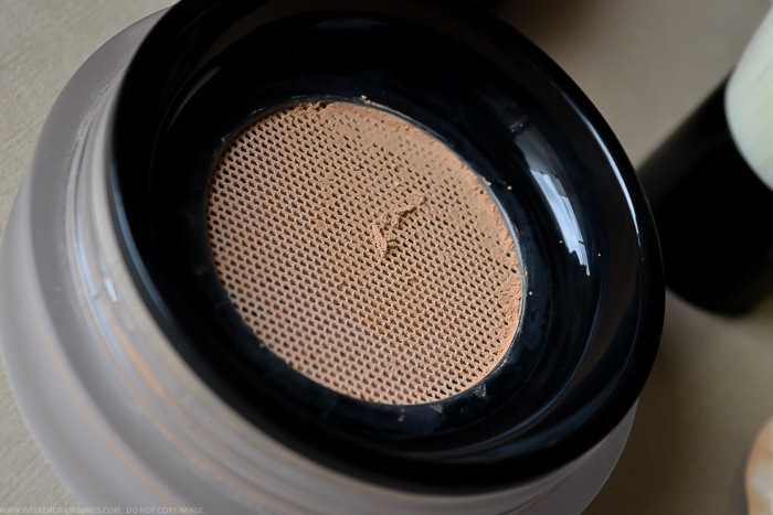 Chanel Vitalumiere Loose Powder Mini Kabuki Brush Review Photos Swatches FOTD