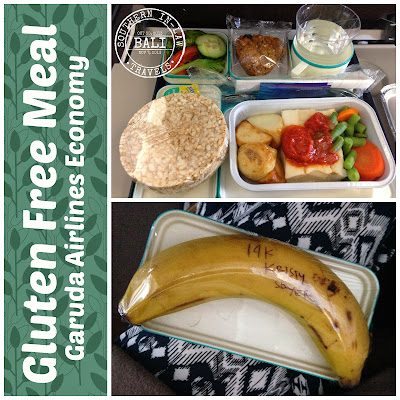 Garuda Indonesia Airline Gluten Free Meal Review