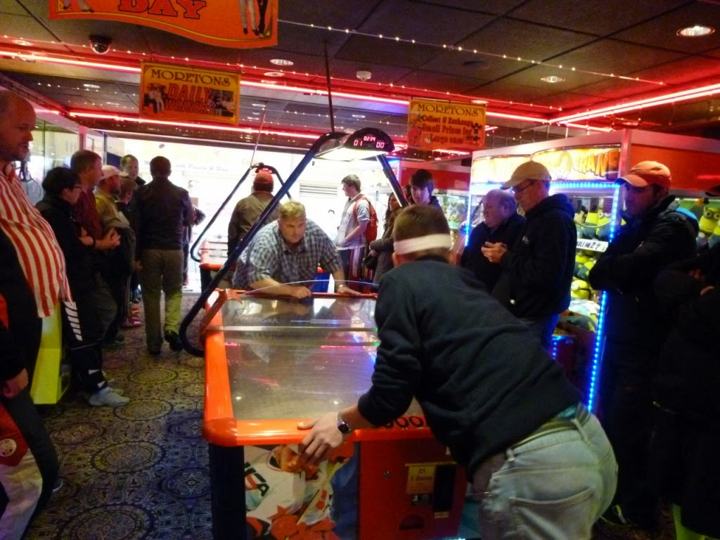 Worlds Crazy Air Hockey Championship in Hastings