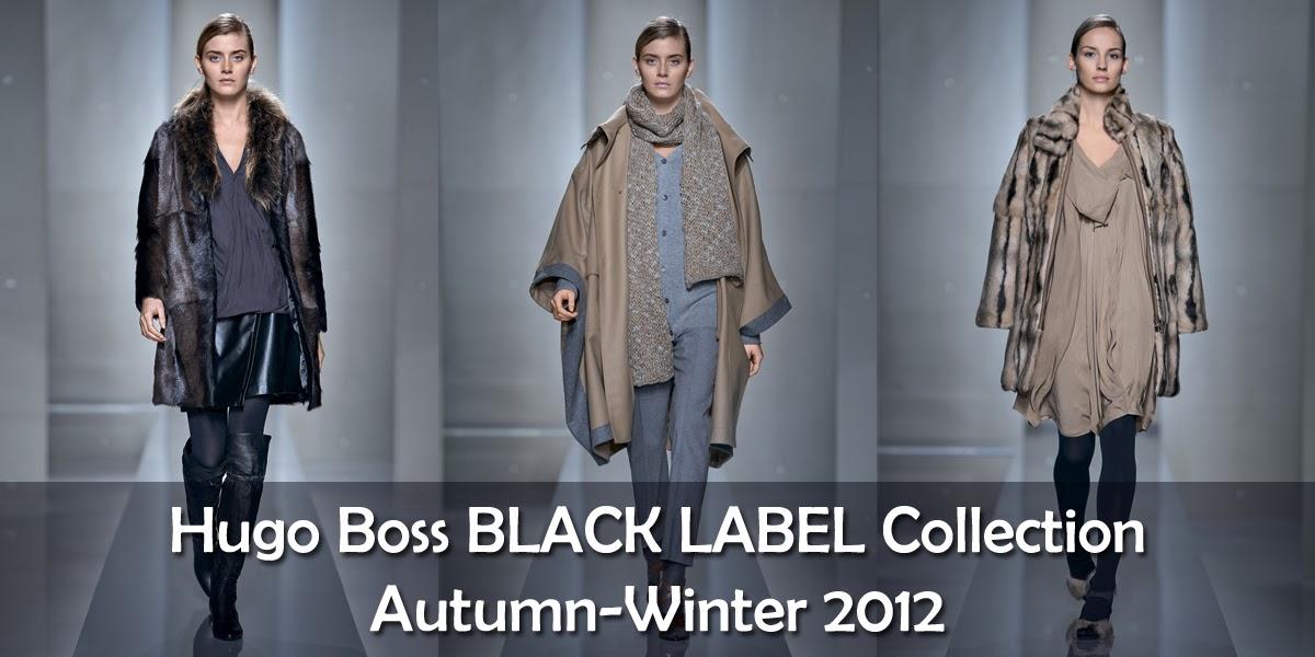 hugo boss black label autumn winter collection for women 39 s hugo boss women 39 s wear dresses. Black Bedroom Furniture Sets. Home Design Ideas