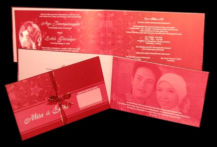 Kumpulan Contoh Undangan Pernikahan   Undangan Pernikahan Modern