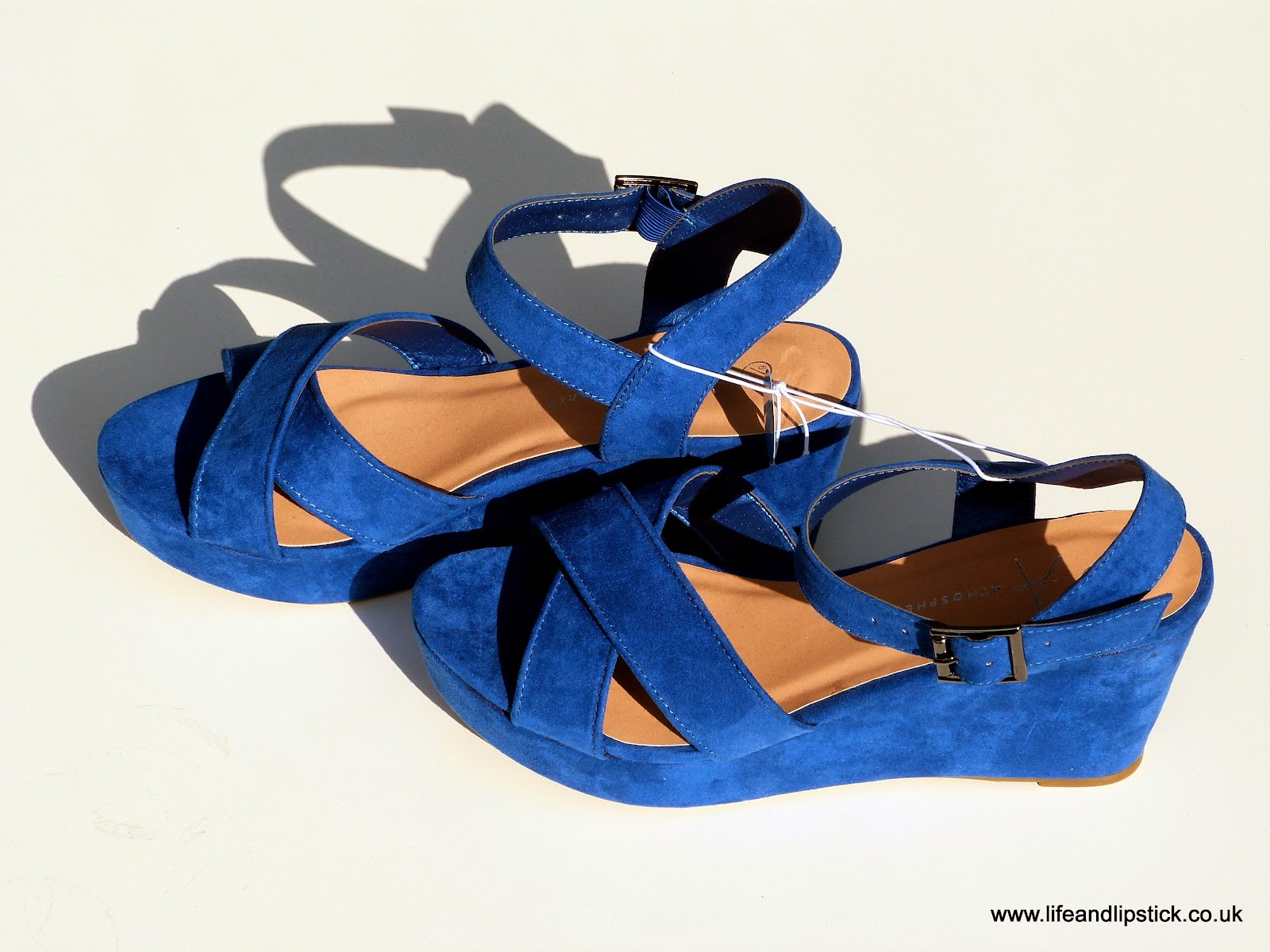 Primark Cobalt Blue Wedges
