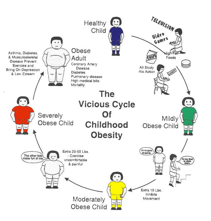 Childhood Obesity Cycle