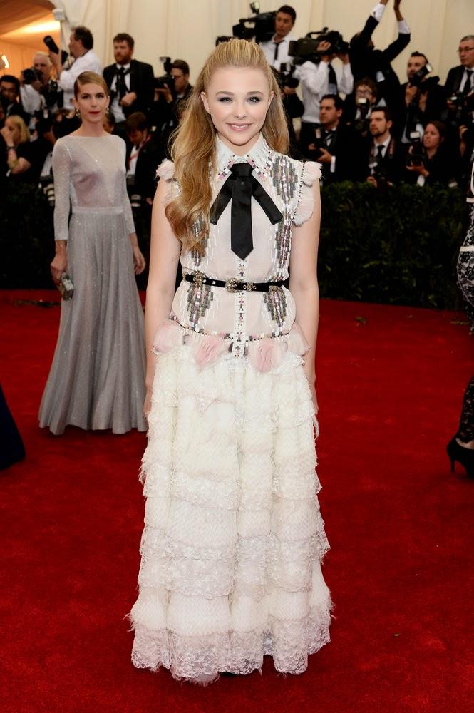 Chloe Grace Moretz, Met Gala 2014 Red Carpet
