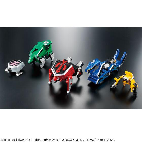 Super Sentai Artisan DX Shinken-Oh official image 01