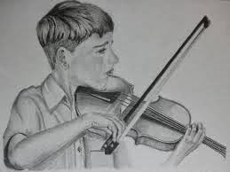 Os primeiros passos Aprender a Tocar Violino, Anedota de Açorianos