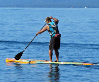 Vegan Day paddlers and cyclists will circle Lake Tahoe