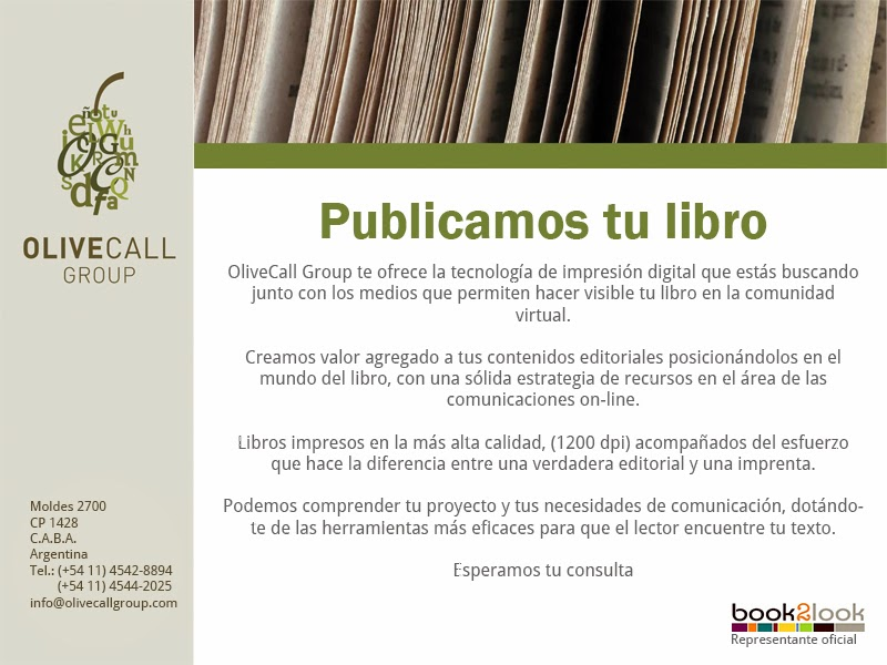 Olivecall Group - Eduardo Callaey - Editoriales