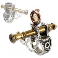 Steampunk Canon Ring present